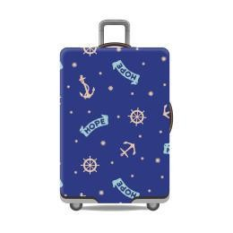 Travel With Us Luggage Cover Size M - Anchor