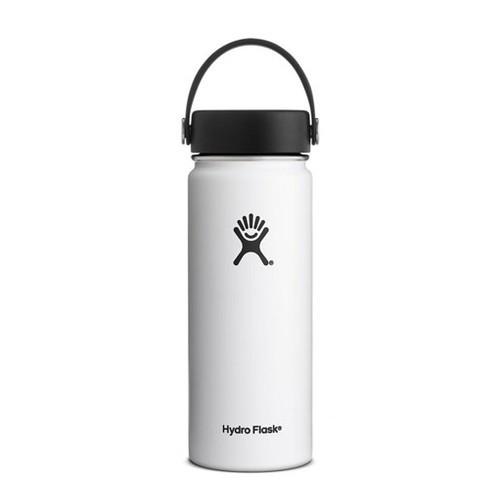 Hydro Flask Wide Mouth 18OZ - White