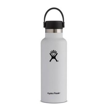 Hydro Flask Standard Mouth 18OZ - White