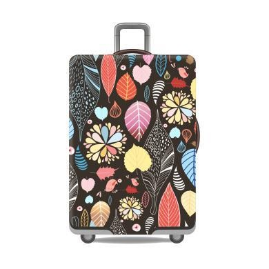 Travel With Us Luggage Cover SIZE M - Autumn