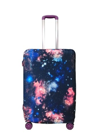 Travel With Us Luggage Cover Size L - Meteor