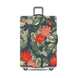 Travel With Us Luggage Cover Size M - Rose