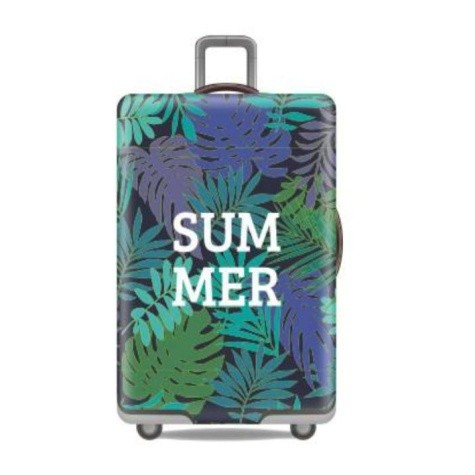 Travel With Us Luggage Cover Size M - Summer