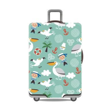 Travel With Us Luggage Cover Size M - Toucon