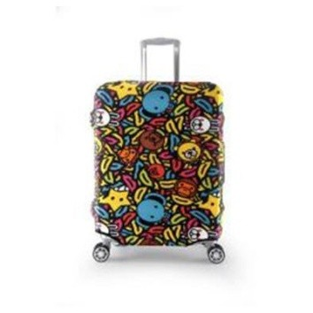 Travel With Us Luggage Cover SIZE M - Banana Milo