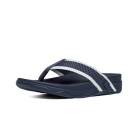 Fitflop SURFER(485-253), SUPERNAVY/WHITE, 11, SLIPPERS, MN