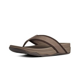 Fitflop SURFER[485-030], CHOCOLATE, (11), SLIPPERS, MN