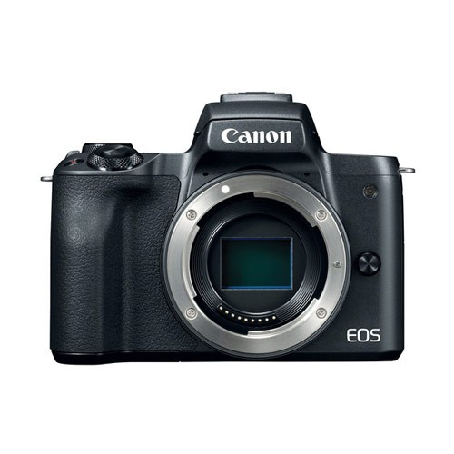 Canon EOS M50 Mirrorless Digital Camera Body Only - Black