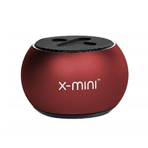 X-Mini Click 2 Portable Bluetooth Speakers - Crimson Red