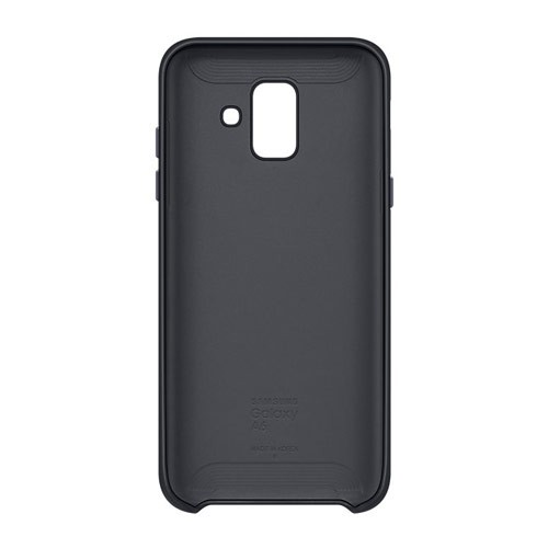 Samsung Dual Layer Cover for Galaxy A6 (2018 Edition) - Black