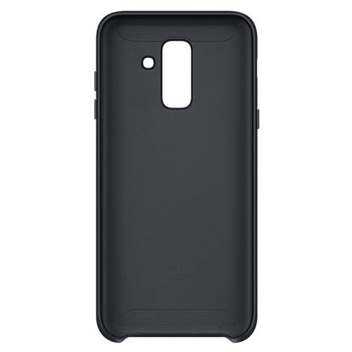 Samsung Dual Layer Cover for Galaxy A6+ (2018 Edition) -  Black