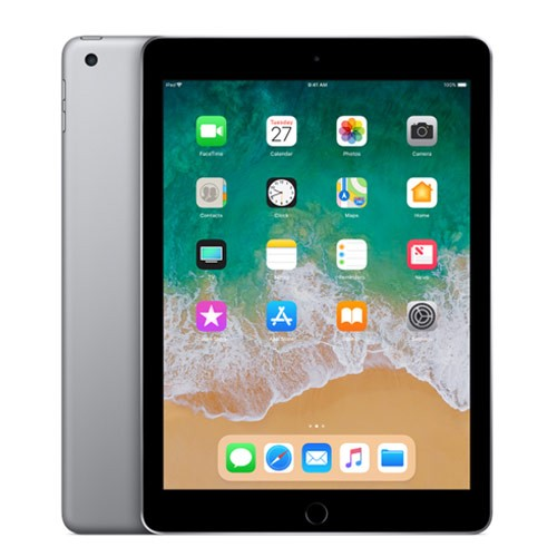 Apple iPad 6 - 9.7 inch Wi-Fi Only 128GB (2018 Edition) - Space Grey