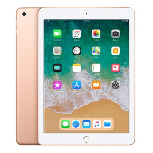 Apple iPad 6 - 9.7 inch Wi-Fi Only 128GB (2018 Edition) - Gold