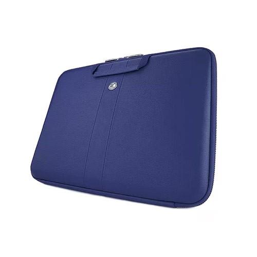 Cozi Aniline Leather Smart Sleeve for Macbook 13 inch 2017 CLNR71302 - Blue Depth