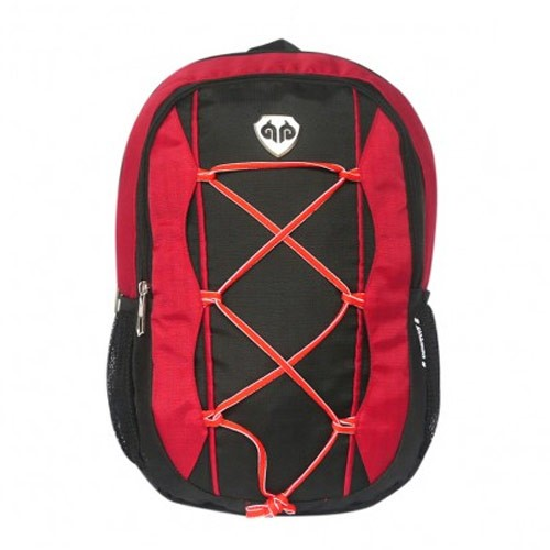 Exist Tas Ransel Laptop Raincoat 8-8615 - Red Black
