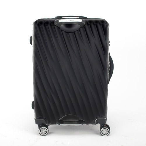Lanwain Magic Grip Travel Suitcases Ziper 20 inch - Black
