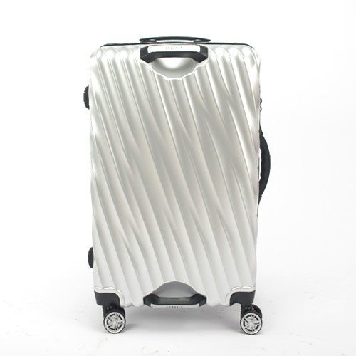 Lanwain Magic Grip Travel Suitcases Ziper 26 inch - Silver