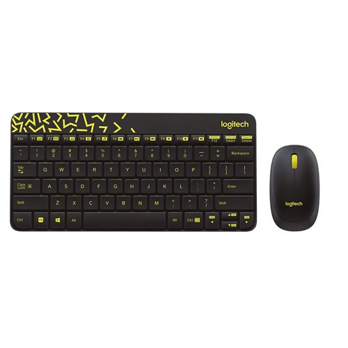 Logitech Keyboard + Mouse Wireless Combo MK240 - Black