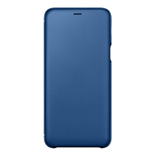 Samsung Wallet Cover for Galaxy A6+ (2018 Edition) - Blue