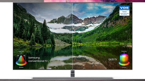 Samsung QLED 4K Smart TV 65 inch (2018 edition) QA65Q7FNAKPXD
