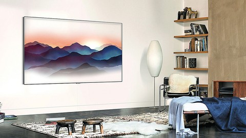 Samsung QLED 4K Smart TV 75 inch (2018 edition) QA75Q7FNAKPXD