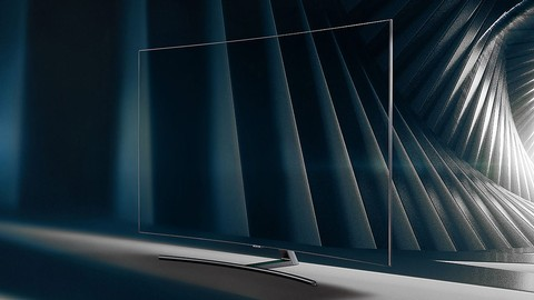 Samsung QLED 4K Curved Smart TV 65 inch (2018 edition) QA65Q8CNAKPXD