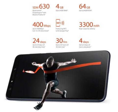 Asus Zenfone 5Q ZC600KL - White