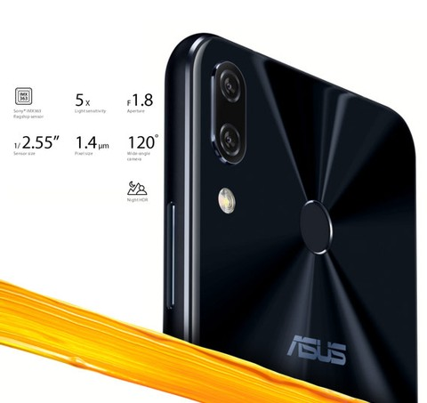 Asus Zenfone 5 (RAM 4/64GB) ZE620KL - Midnight Blue