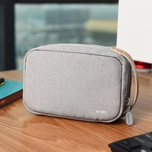 Wiwu Cozy Digital Storage Bag 11 Inch GM1814  - L Size - Grey