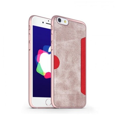 Gearmax Wiwu Premium Case for iPhone 6 Plus/6s Plus SJ-001 - Rose Gold