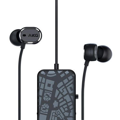 AKG In-Ear headphones with Active Noise Cancelling N20NC - Black