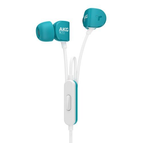 AKG In-Ear Headphone Stereo Y20U - Teal