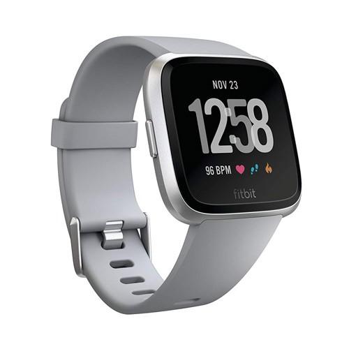 Fitbit Versa - Gray/Silver Alum