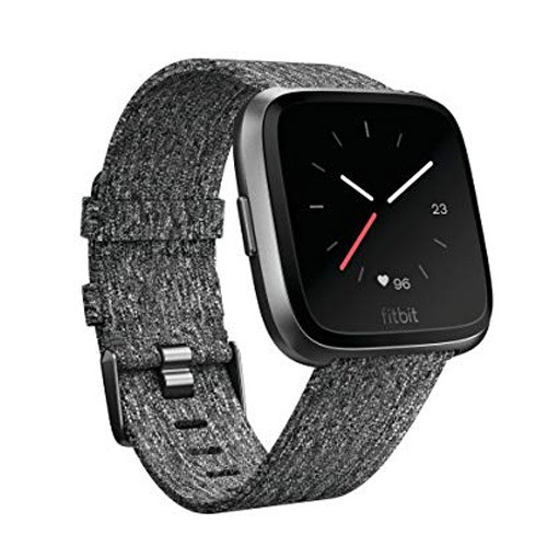 Fitbit Versa Special Edition - Charcoal Woven