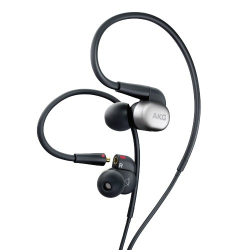 AKG Hi-Res In-Ear Headphones N30 - Silver