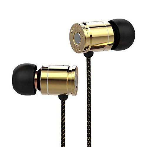Kworld In-Ear Mobile Gaming Earphones S25 - Gold