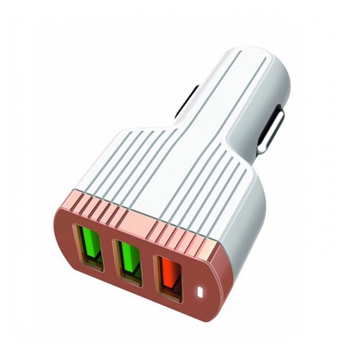 LDNIO Car Charger USB with Quick Charge 3.0 and Auto-ID C702Q
