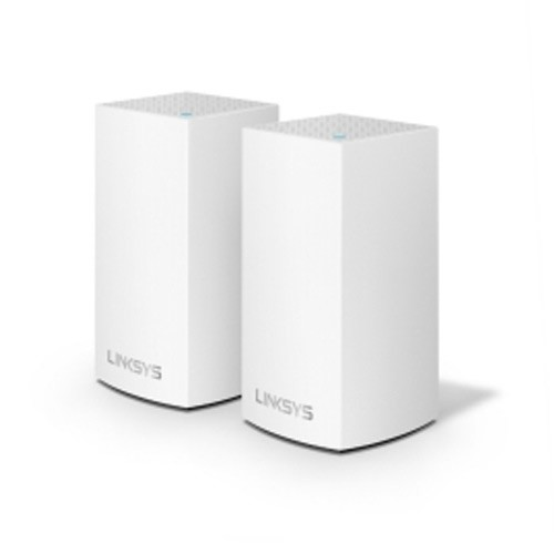 Linksys Velop Junior Dual Band MU-MIMO AC1300 Mesh Network WHW0102-AH (2 Pack)