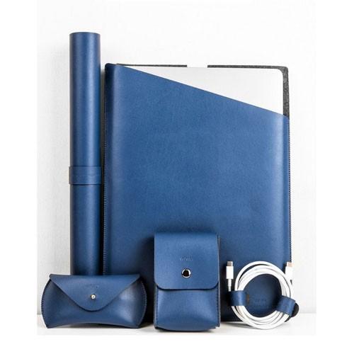 Wiwu Elite Protect Case Set 5 in 1 for MacBook 13 inch - Blue