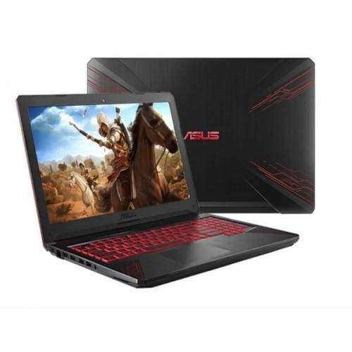 Asus ROG Gaming Laptop FX504GE with GeForce GTX 1050Ti - Red Pattern