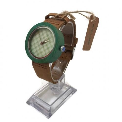 Zenon Premium Real Bamboo Waterproof Wooden Japan Quartz Movement Watch - D18.06 - Men - Jam Tangan Kayu Unik