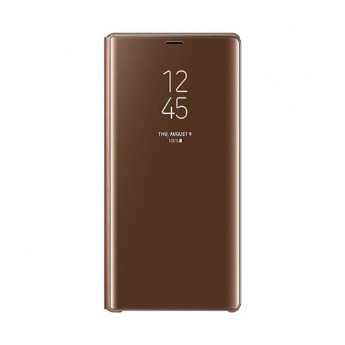 Samsung Clear View Cover for Galaxy Note9 - Brown