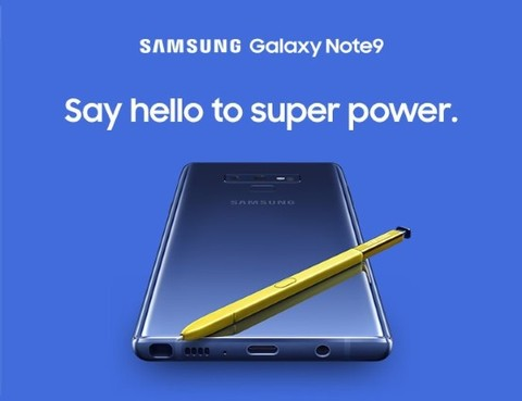 Samsung Galaxy Note9 512GB - Midnight Black