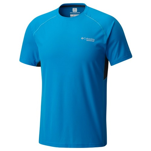 Columbia Titan Ultra Short Sleeve Shirt Compass Blue (XL)