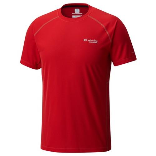 Columbia Titan Ultra Short Sleeve Shirt Red Spark (XL)