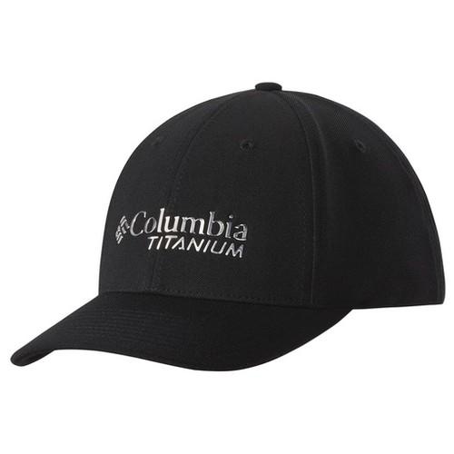 Columbia Titanium Ball Cap Black (L/XL)