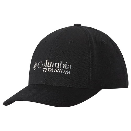 Columbia Titanium Ball Cap Black (S/M)