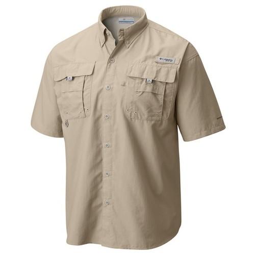 Columbia Bahama II S/S Shirt-App-(1011657160)-S-Fossil