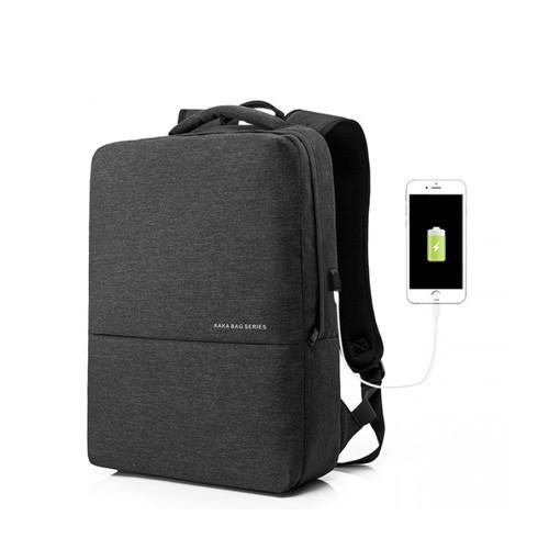 Kaka Anti Theft Bag Waterproof for Laptop 15.6 Inch 2237 - Black