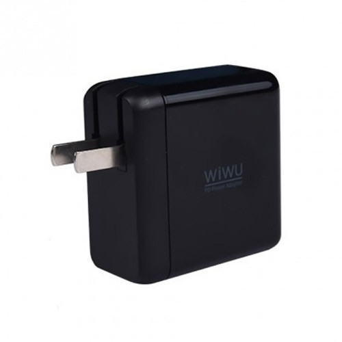 Wiwu Travel Wall Charger with Power Delivery & Fast Charging QC08 - Black